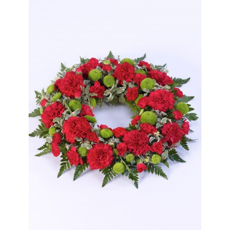 Classic Wreath - Red & Green