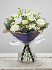 Twinkling Whites Hand-tied