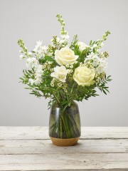 Fragrant Whites Vase