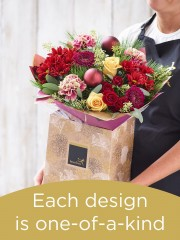 Christmas Hand-tied Bouquet £45
