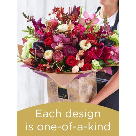 Christmas Hand-tied Bouquet £200