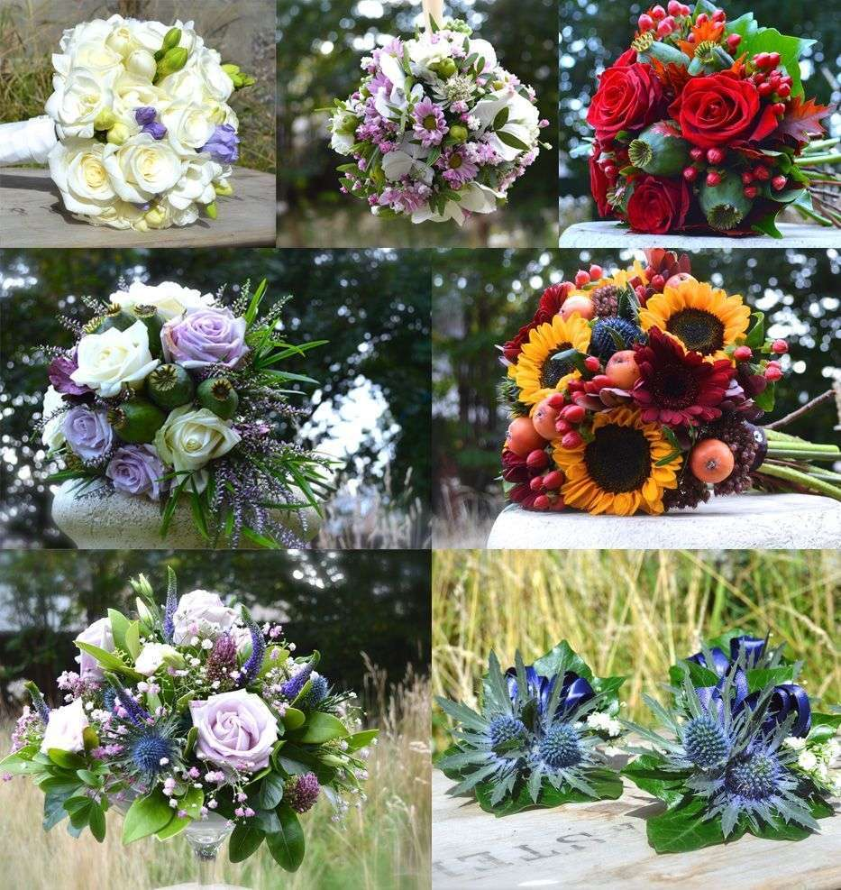 Wedding florists in Aberdeen